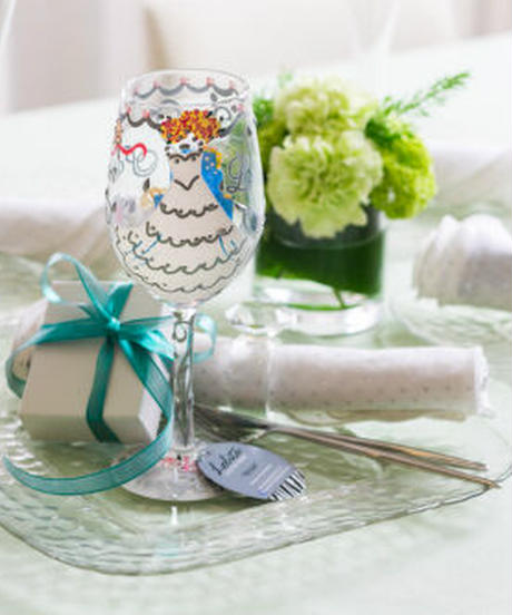 Lolita Bride Wine Glass