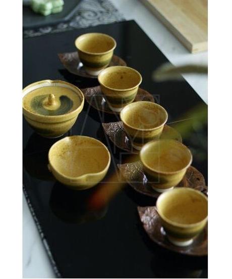 清水焼/煎茶5客揃え