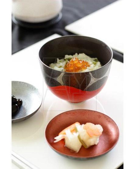 清水焼/寿朱銀椀ペアセット