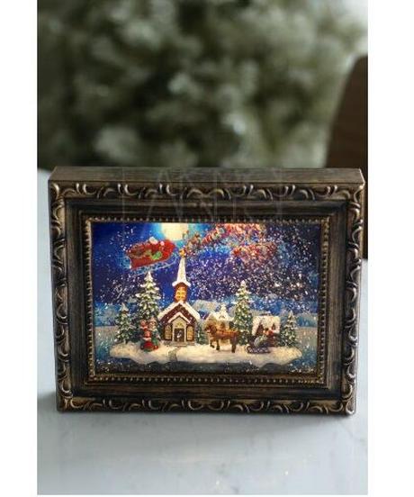 LEDアートフレーム/クリスマス
