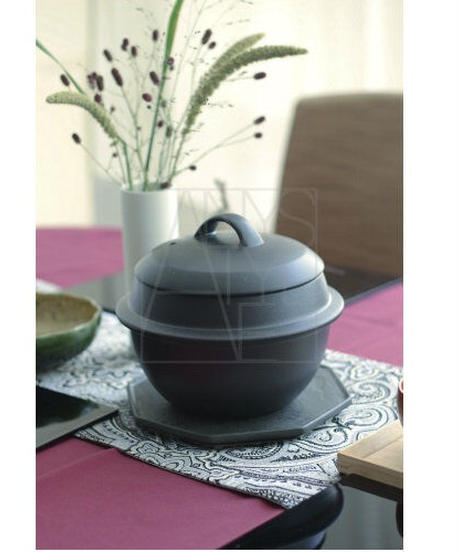 羽釜土鍋/2合炊き