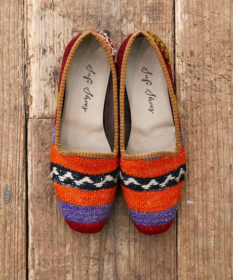 *足元のヴィンテージ*vintage kilim shoes 38サイズ