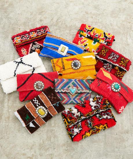 *スークが薫*Moroccan rug bag