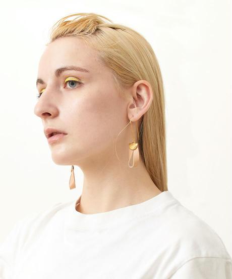 *シンプルの極み*ring motivated  earrings
