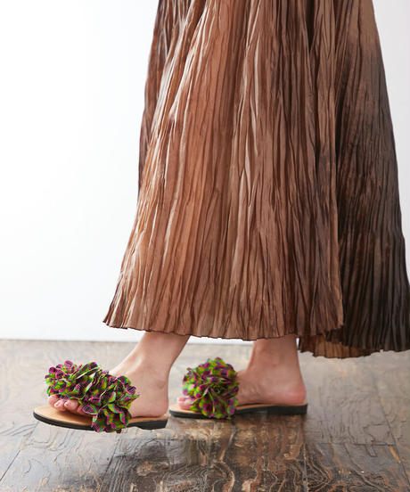 *African Fabric  Sandals *