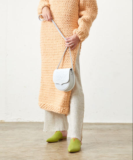 *美の追求*embossed leather bag