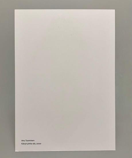 アヌ・トゥオミネン ポストカード「松かさの表面積」