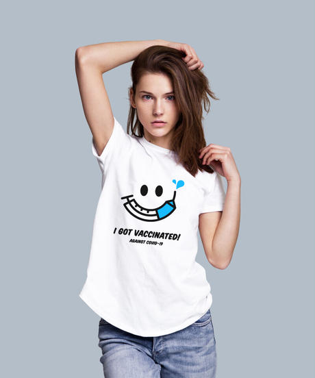 ワクちゃんTシャツ ホワイト