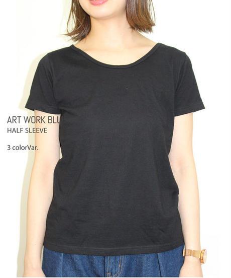 無地Tシャツ(天竺)レディース ott tricot オットトリコット インポート      lfc-18111