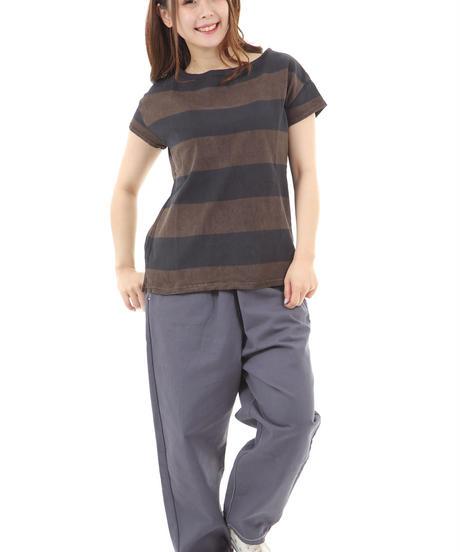 テーチギ+泥染めBD Tシャツ    lac-91093r