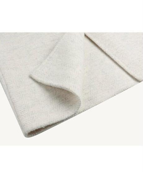 herringbone long coat【wool 80%】/2color