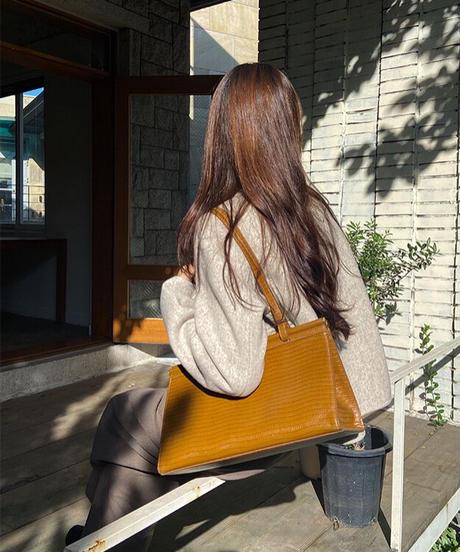 (予約)no collar short jacket 【Wool 100%】
