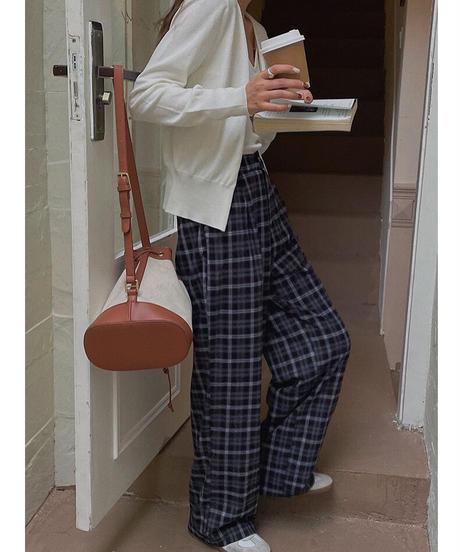 knit camisole & cardigan ensemble /4color