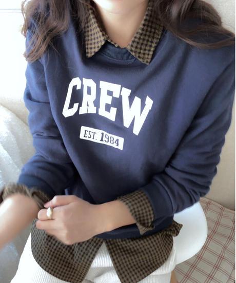 crew logo trainer/2color