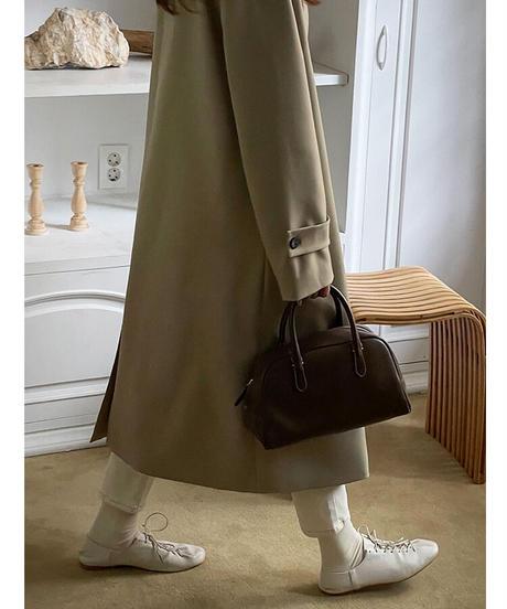 classical sten collar coat