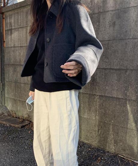 short jacket【Wool 100%】2color