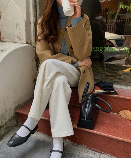 middle basic coat 2021【wool 100%】/2color