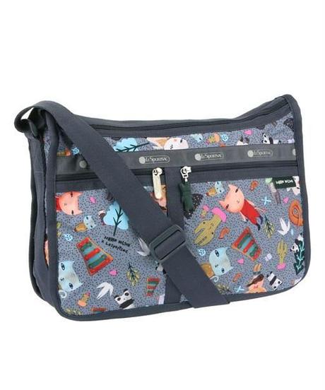 [レスポートサック] lesportsac ドナ・ウィルソン Deluxe Everyday Bag SINGING IN THE WOODS 7507 G372 ショルダーバッグ