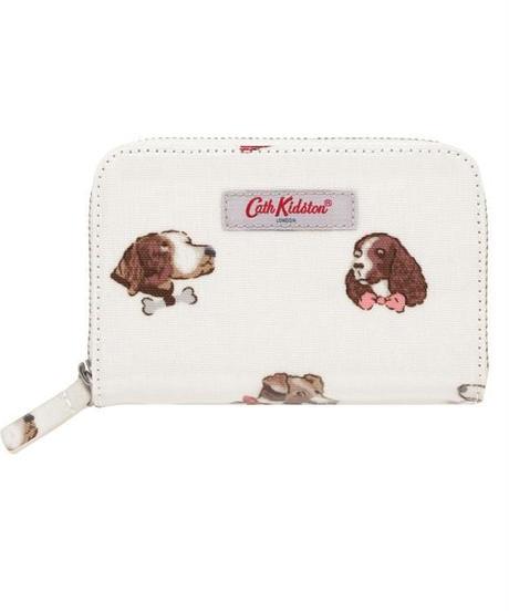 [キャスキッドソン] cath kidston ポケットパース ドッグポートレーツバック Warm Cream 105003815716102 財布