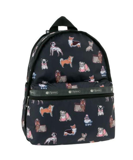 [レスポートサック] lesportsac Basic Backpack TAKE A BOW WOW 7812 E001 バックパック