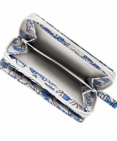 [キャスキッドソン] cath kidston ポケットパース ブルーベルズ Cream Blue 753005 財布