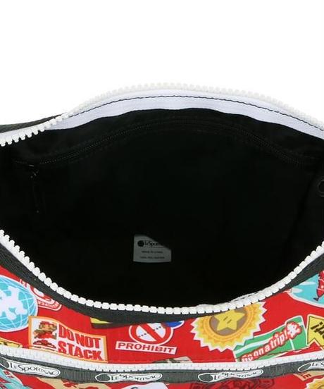 [レスポートサック] lesportsac スーパーマリオ Classic Hobo MARIO TRAVEL 7520 G356 ショルダーバッグ