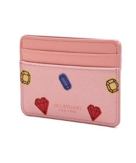 [ジルスチュアート] JILL STUART プティ ダイア カードパース ウィズ コインスロット Pink JAHO9F242 財布