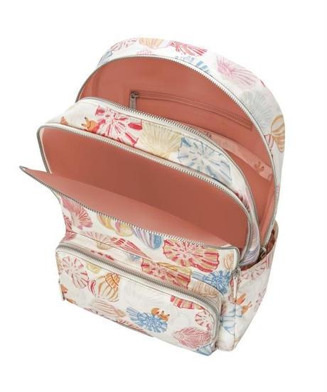 [キャスキッドソン] cath kidston ポケット バックパック シーサイドシェル Vintage Cream 105360316648102 バックパック