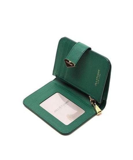 [ジルスチュアート] JILL STUART Green Gold Buckle Wallet JAWA0F611E2 財布