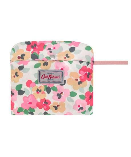 [キャスキッドソン] cath kidston フォルダウェイ バックパック ペインテッドパンジー Cream 105359216847102 バックパック