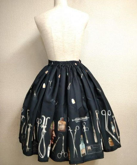 【Violet Fane】ヴァイオレットフェーン Asylumスカート(ブラック)