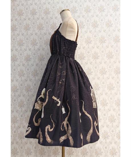 【Violet Fane】ヴァイオレットフェーン Sea Monsters ジャンパースカート  (Black)