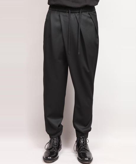 DRAPE PANTS/BLACK