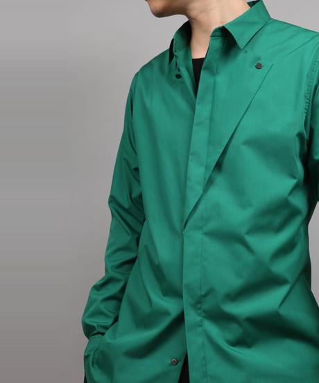 ORIGAMI SHIRT/GREEN