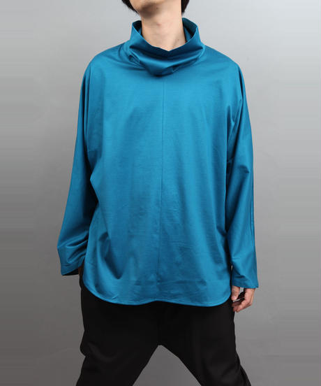 TURTLENECK PULLOVER BLUE