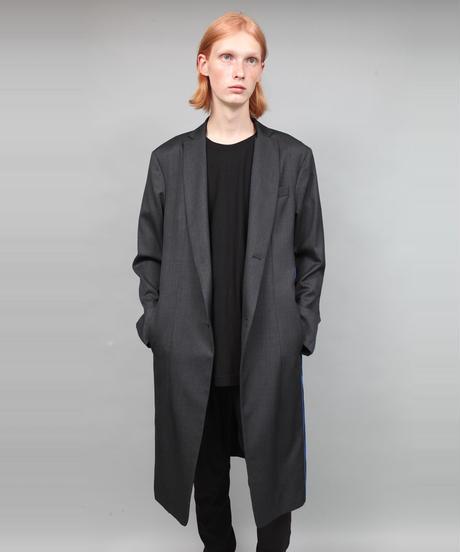 CONCEAL ZIP COAT/BLACK