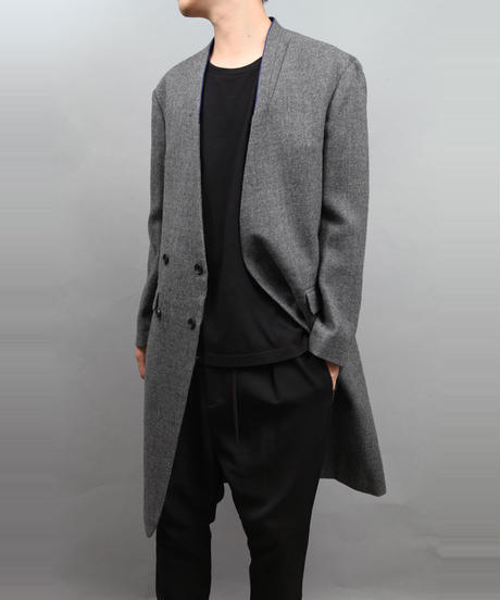 ADJUSTMENT BUTTONS COAT GRAY