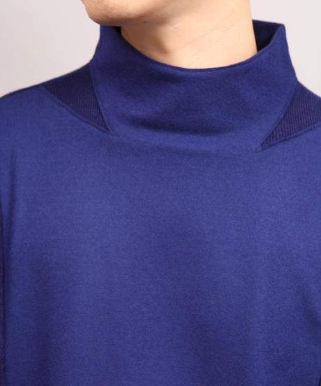 MILAN RIB JERSEY/BLUE