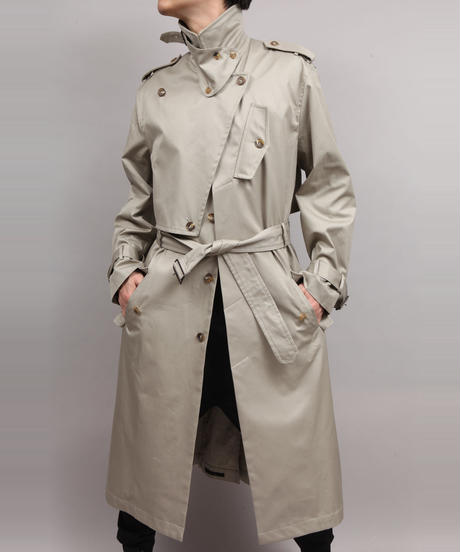 TRENCH COAT/BEIGE