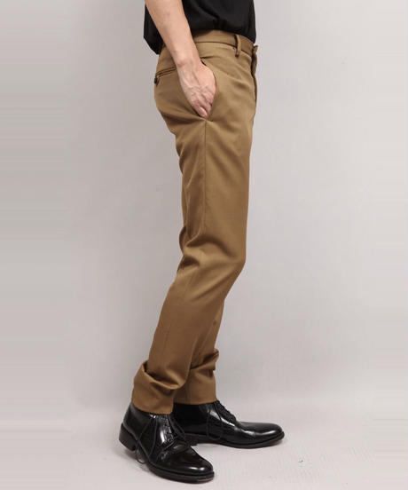 LUMANO TWILL TAPERED PANTS/BEIGE