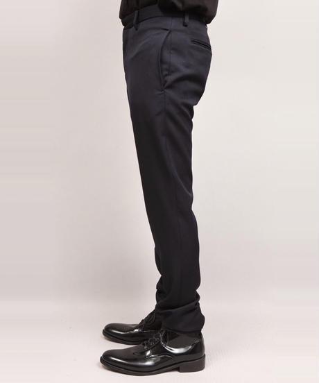 LUMANO TWILL TAPERED PANTS/NAVY