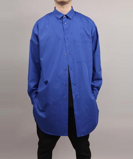 PE/C LONG SHIRT/BLUE