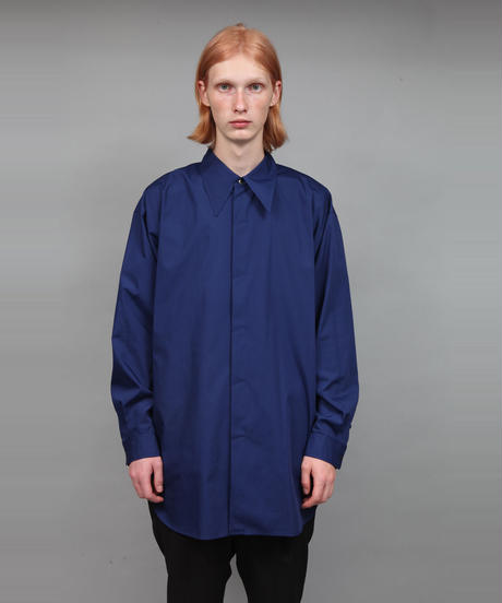 BIG SILHOUETTE PE/C SHIRT/BLUE