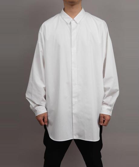 BALLOON SLEEVE SHIRT/WHITE