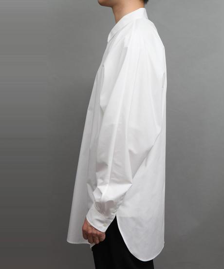 DOLMAN SLEEVE BIG SILHOUETTE SHIRT WHITE