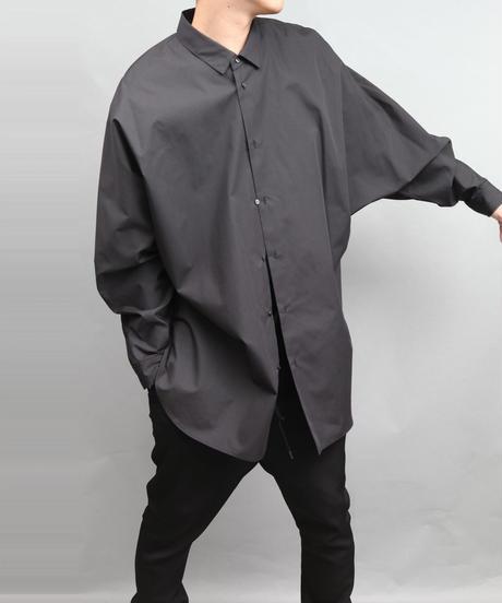 DOLMAN SLEEVE BIG SILHOUETTE SHIRT BLACK