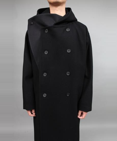 HOOD COAT/BLACK
