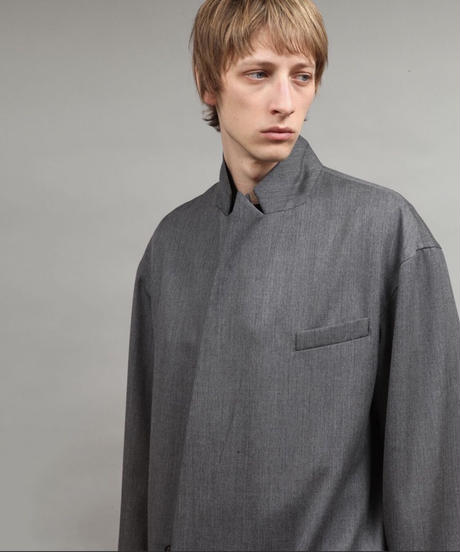 double breasted jacket/C.GRAY