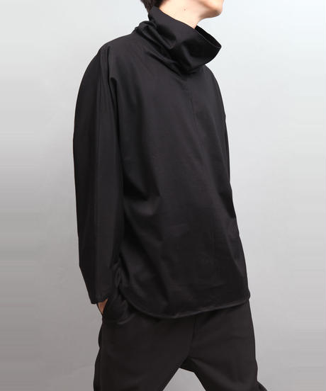 TURTLENECK PULLOVER BLACK
