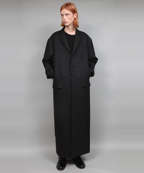 LONG COAT/DARK GRAY